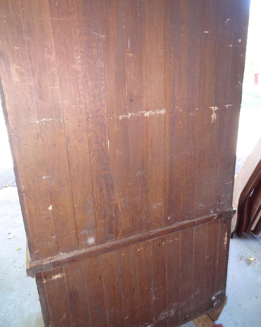 2 Pc. Small Country Store Oak Cabinet - 4