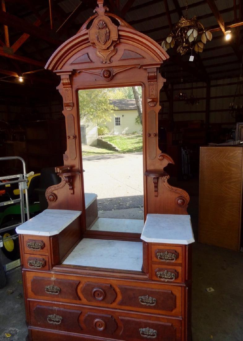 Victorian Marbletopped Dresser