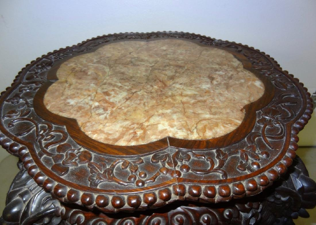 Chinese Marbletop Table - 2
