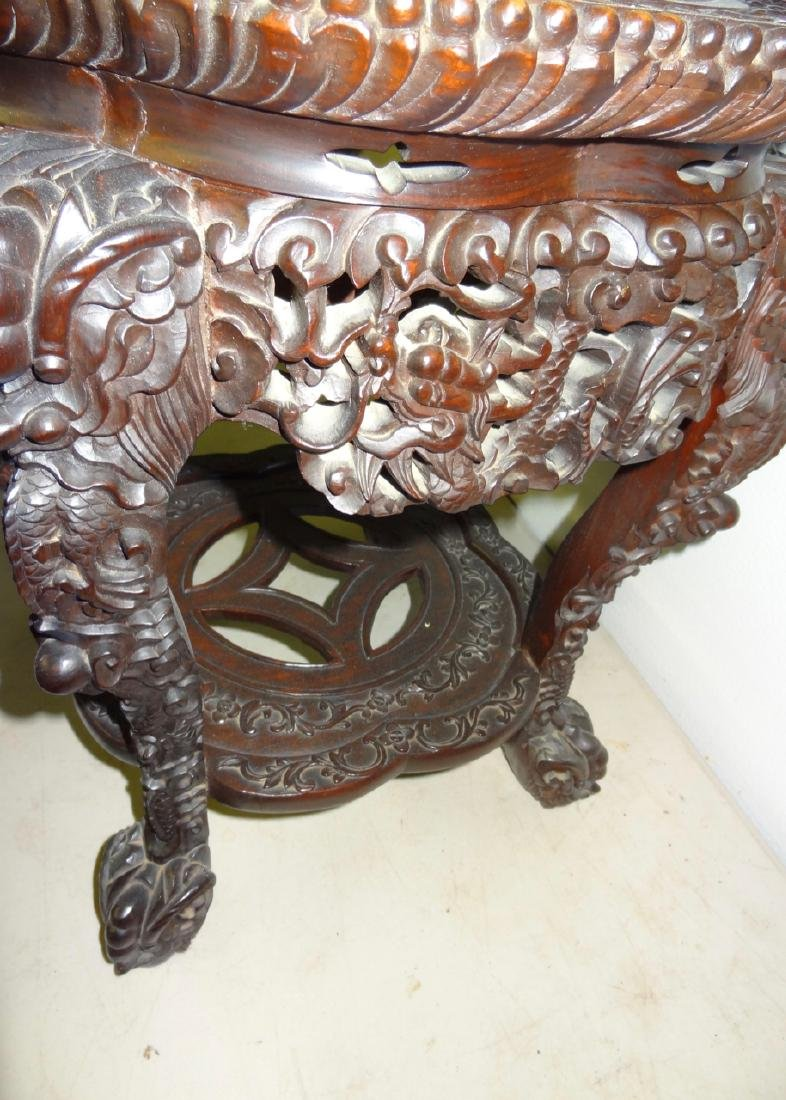 Chinese Marbletop Table - 4