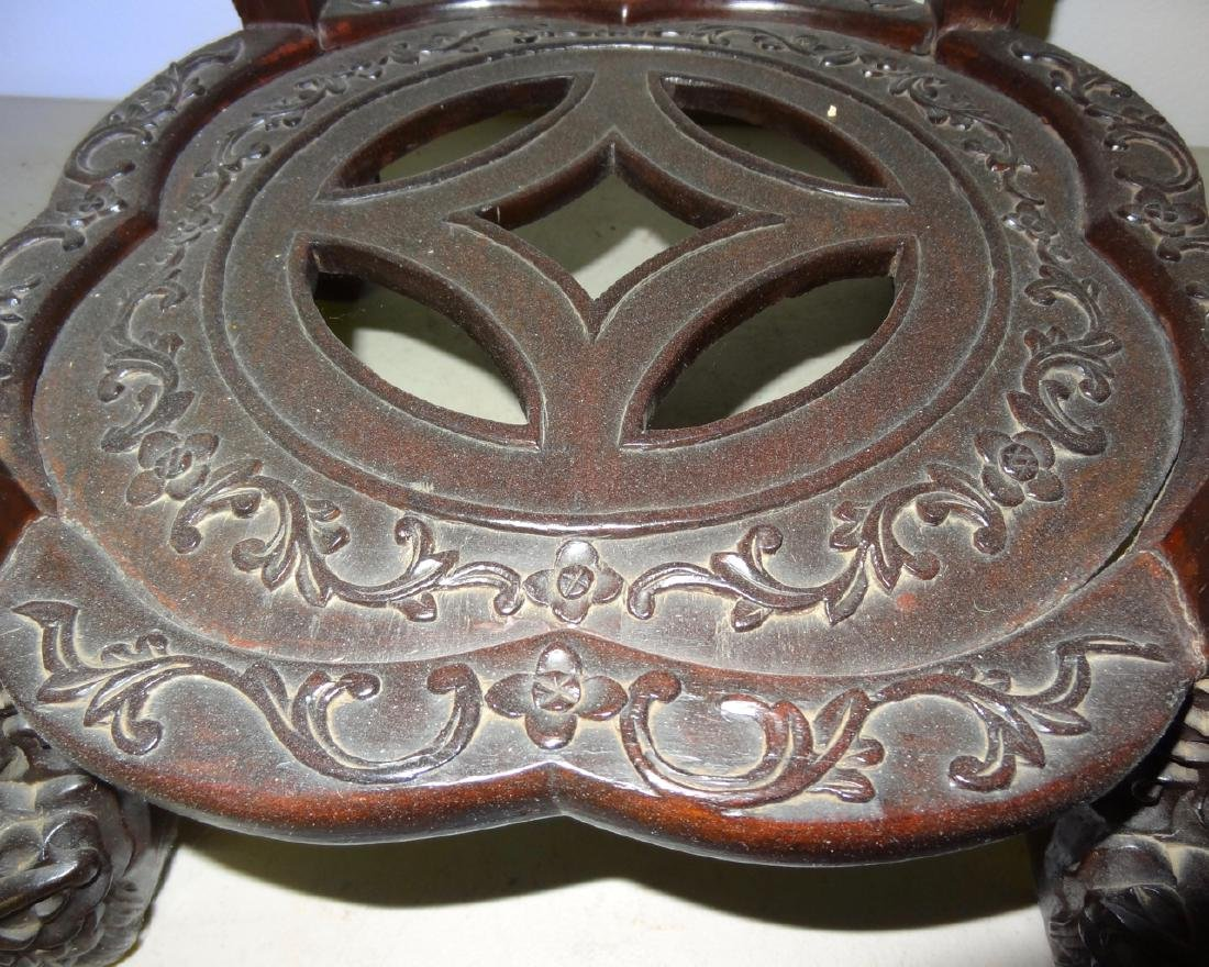 Chinese Marbletop Table - 5