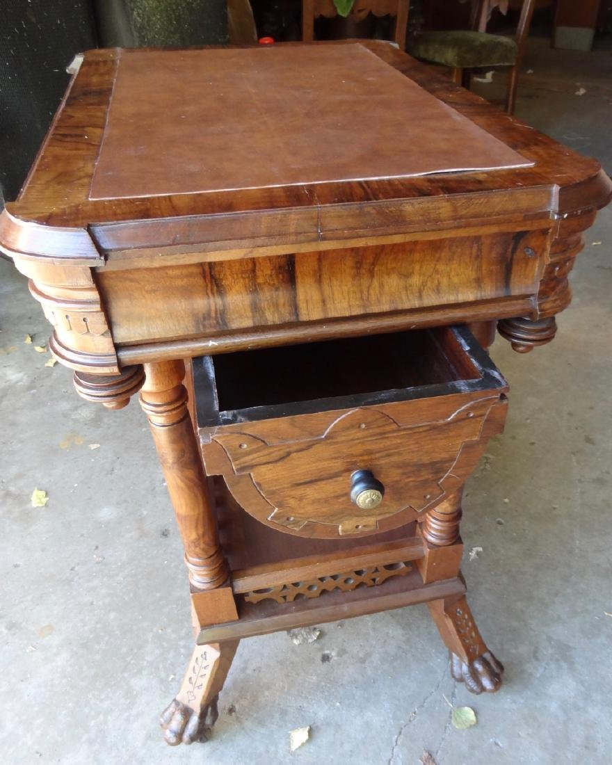 Ornate Victorian Sewing Stand - 3