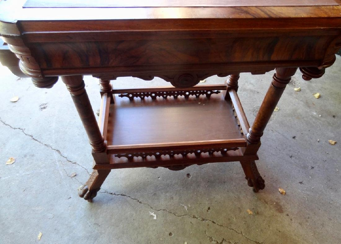 Ornate Victorian Sewing Stand - 4