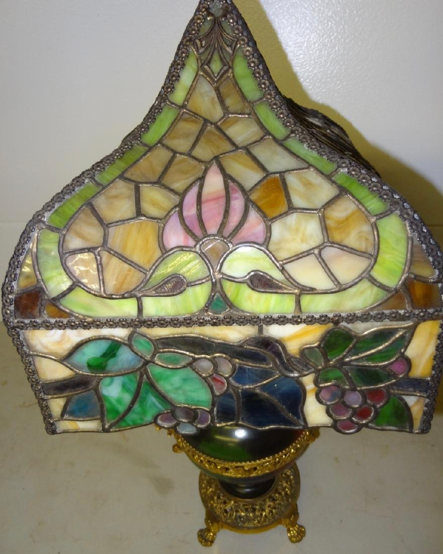 Rare Parker Kerosene Banquet Lamp - 2