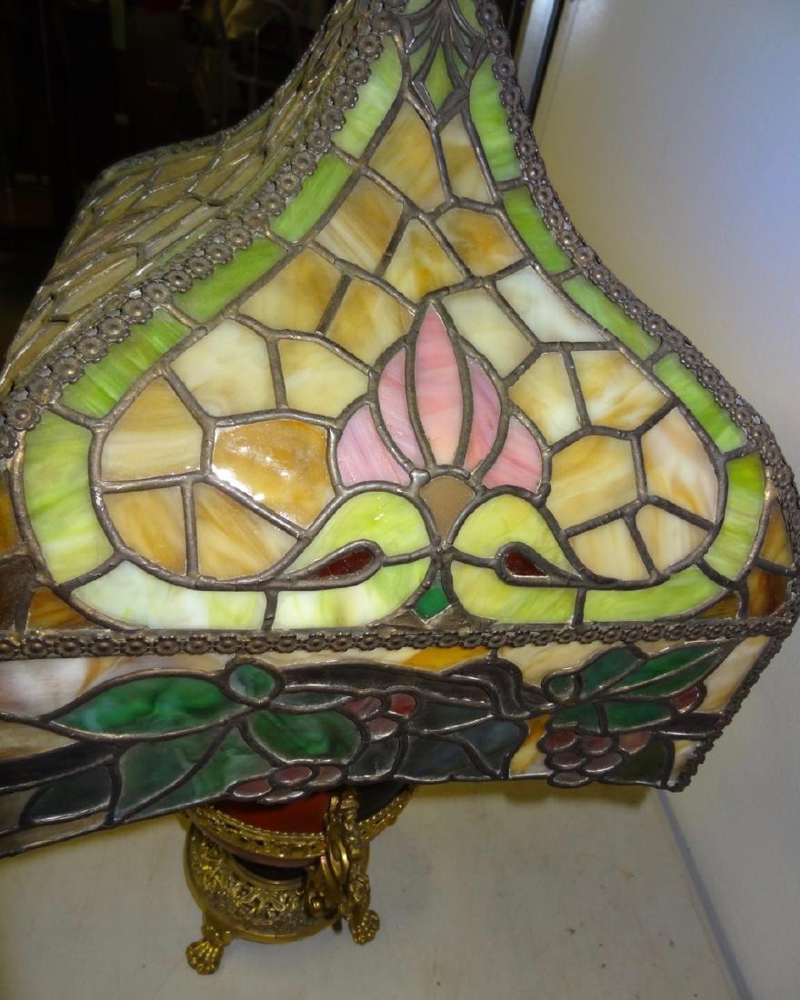 Rare Parker Kerosene Banquet Lamp - 3