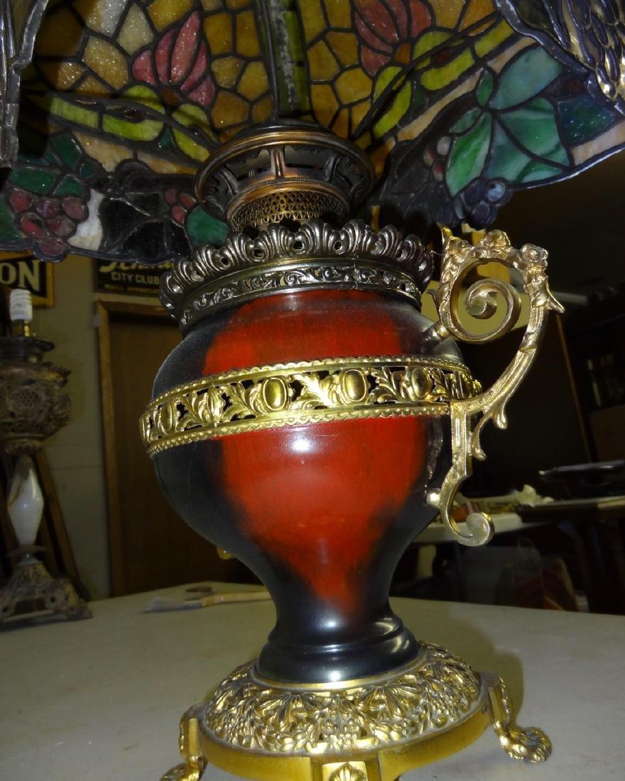 Rare Parker Kerosene Banquet Lamp - 5