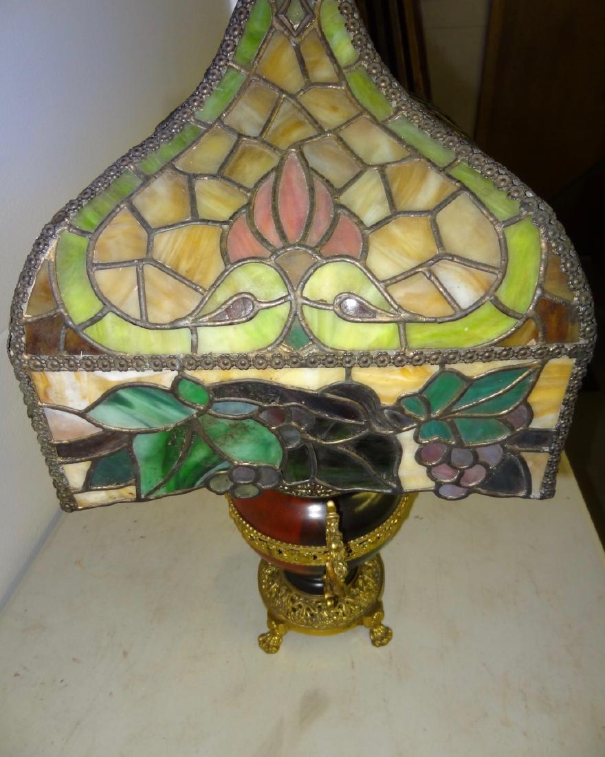 Rare Parker Kerosene Banquet Lamp - 6