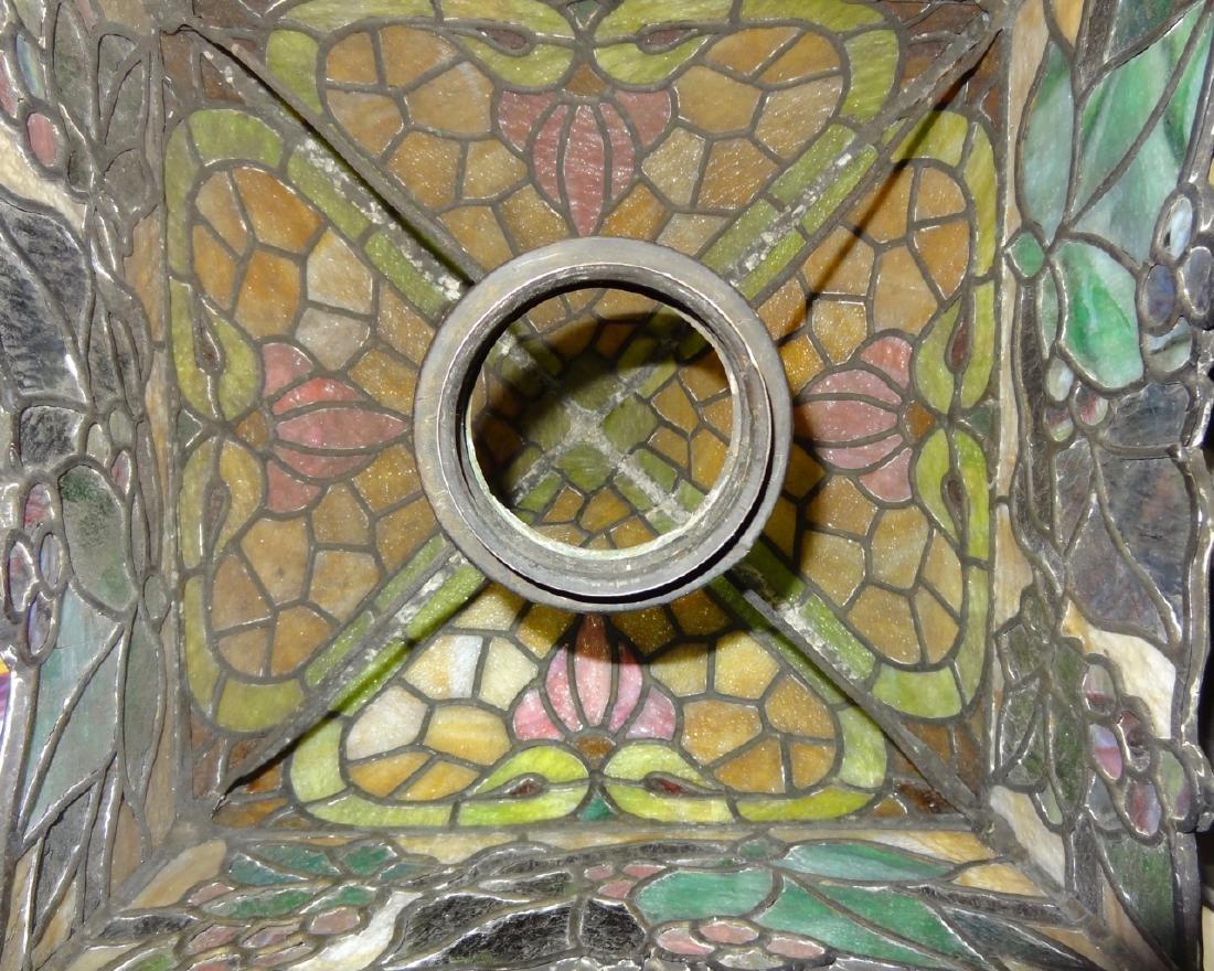Rare Parker Kerosene Banquet Lamp - 9