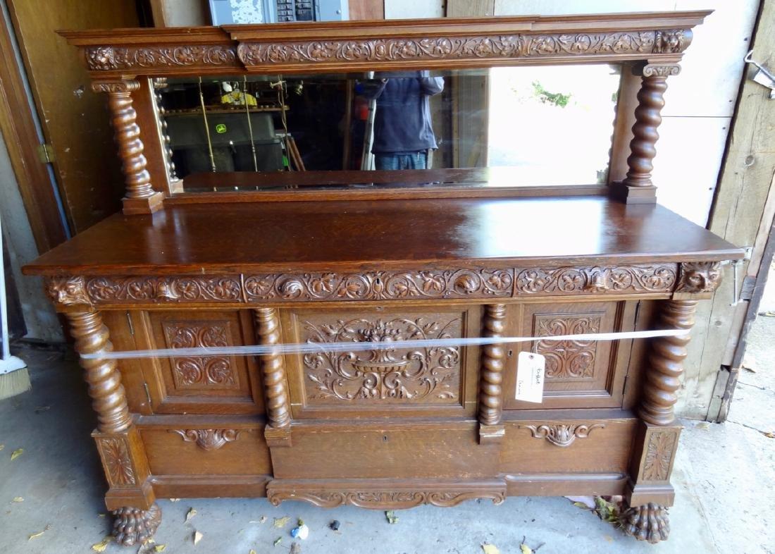 Horner Oak Sideboard