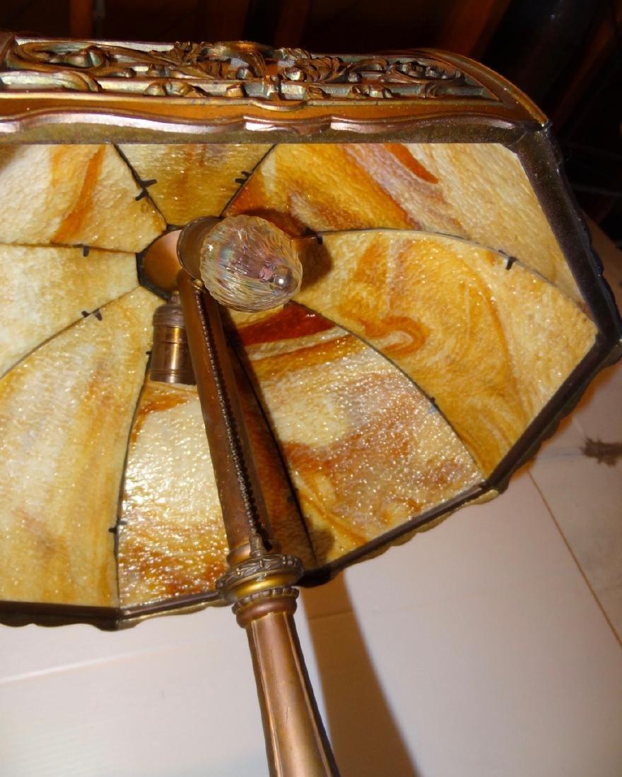 Carmel Slag Panel Lamp - 3