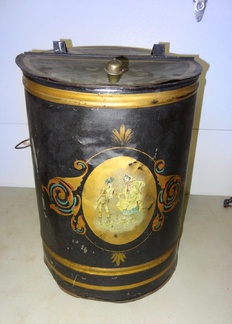 Decorated Store Tin