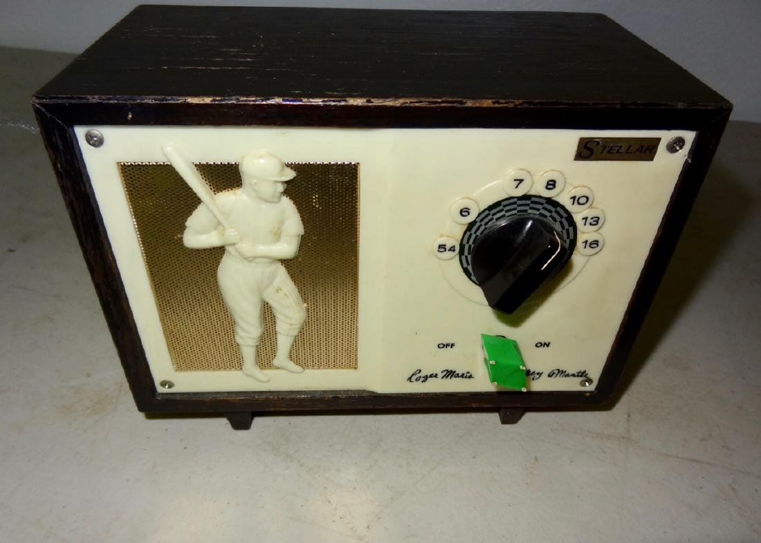 Roger Maris & Mickey Mantle Stellar Radio