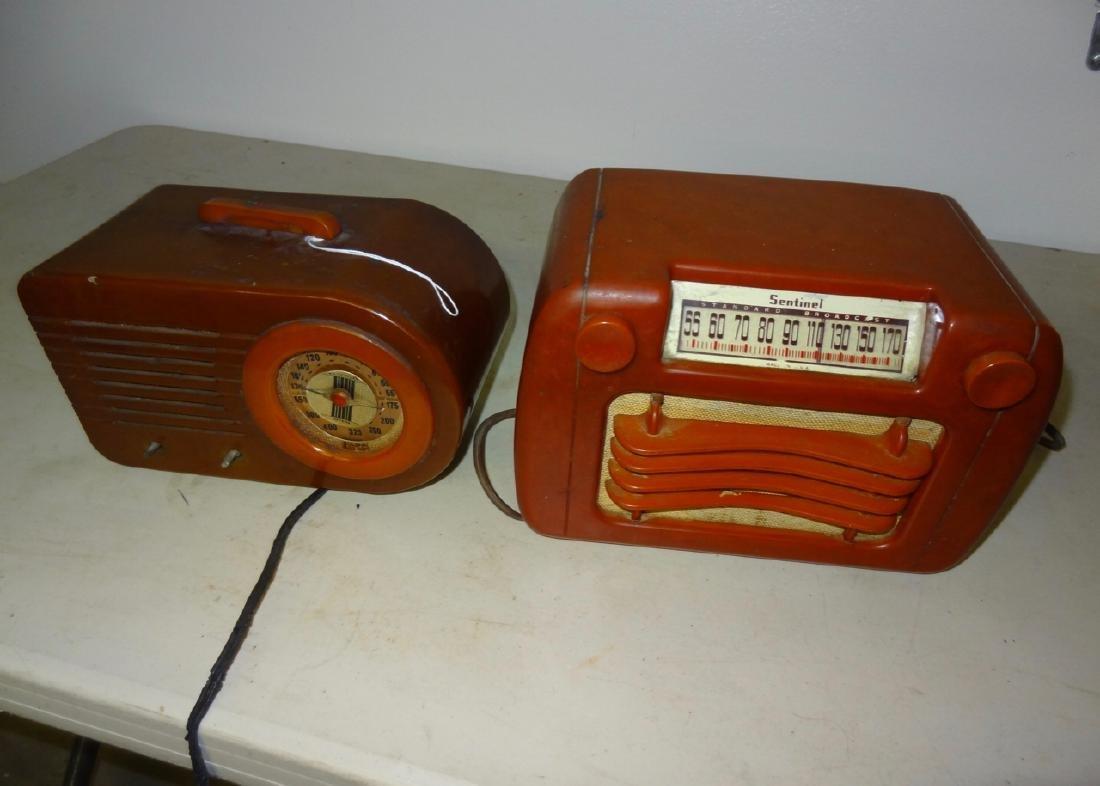 2 Bake-O-Lite Radios