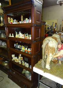 5 High Ideal Mahogany Stacking Bookcase