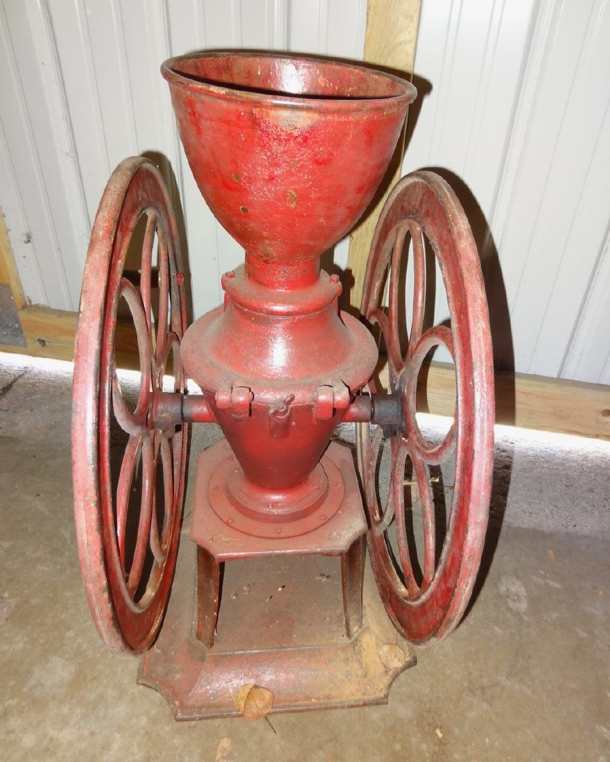 Large Cresent Store Coffee Grinder - 4