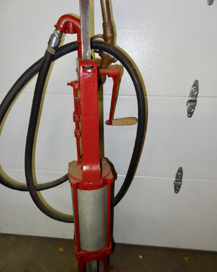 Early Hand Gas Pump - 3