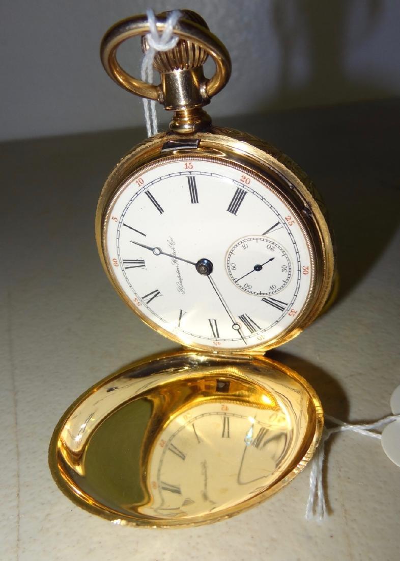 14 Karat Hampden Watch