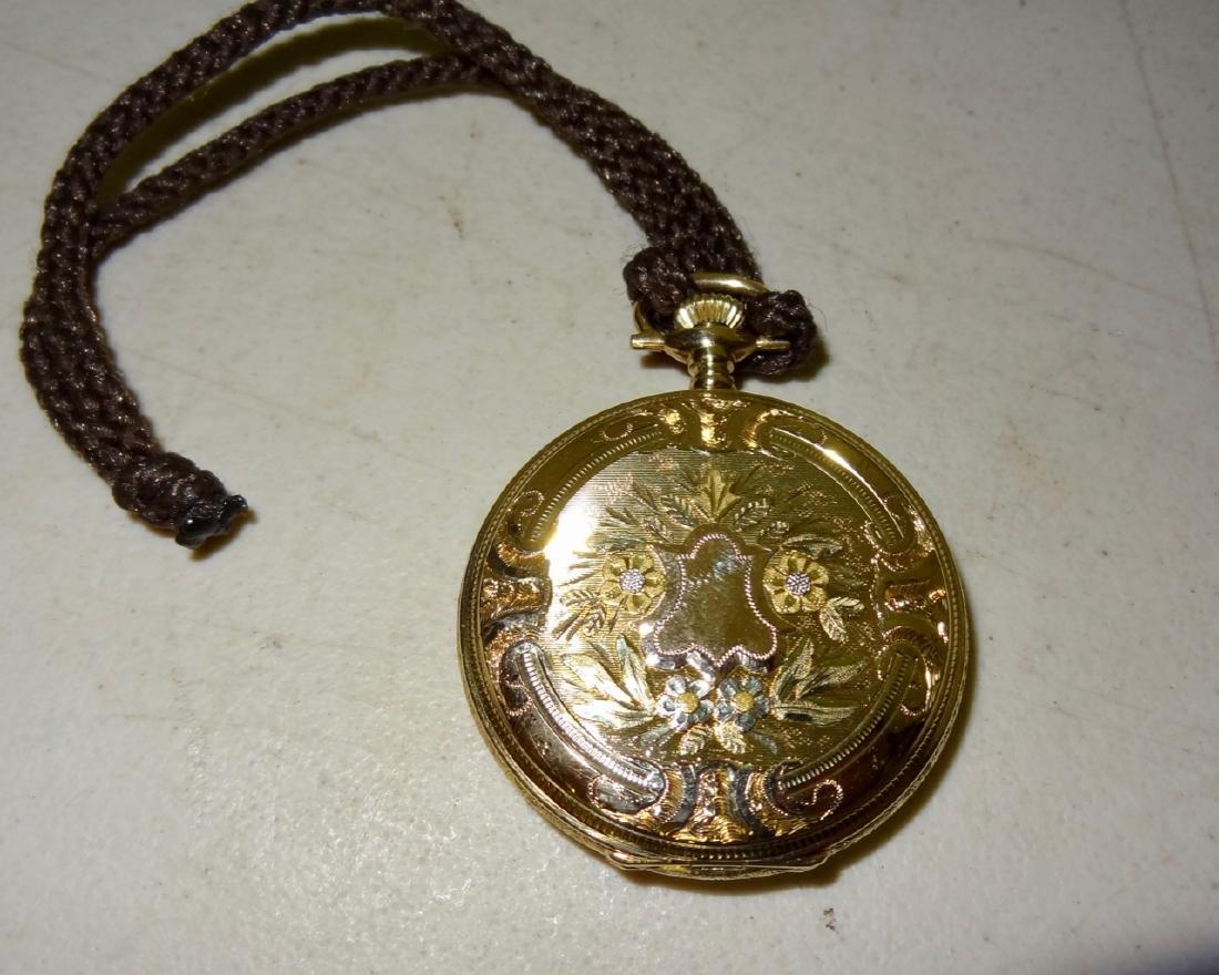 14 Karat Gold Elgin - 4