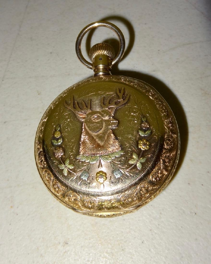Marked 14 Karat Watch Case