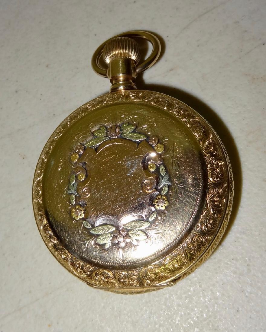 Marked 14 Karat Watch Case - 2