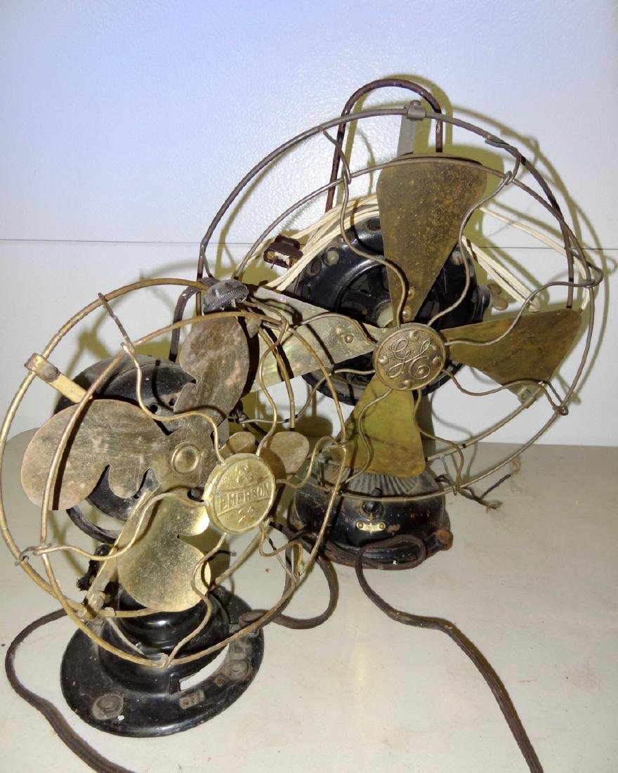 2 Brass Fans