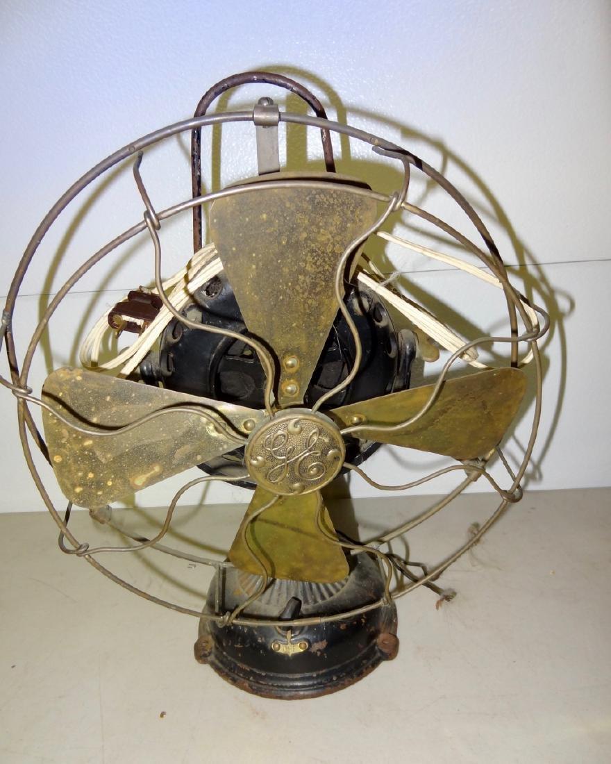 2 Brass Fans - 2