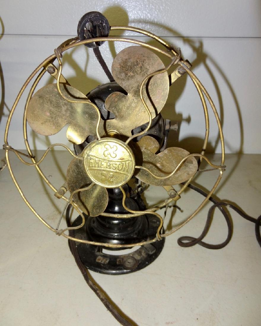 2 Brass Fans - 5