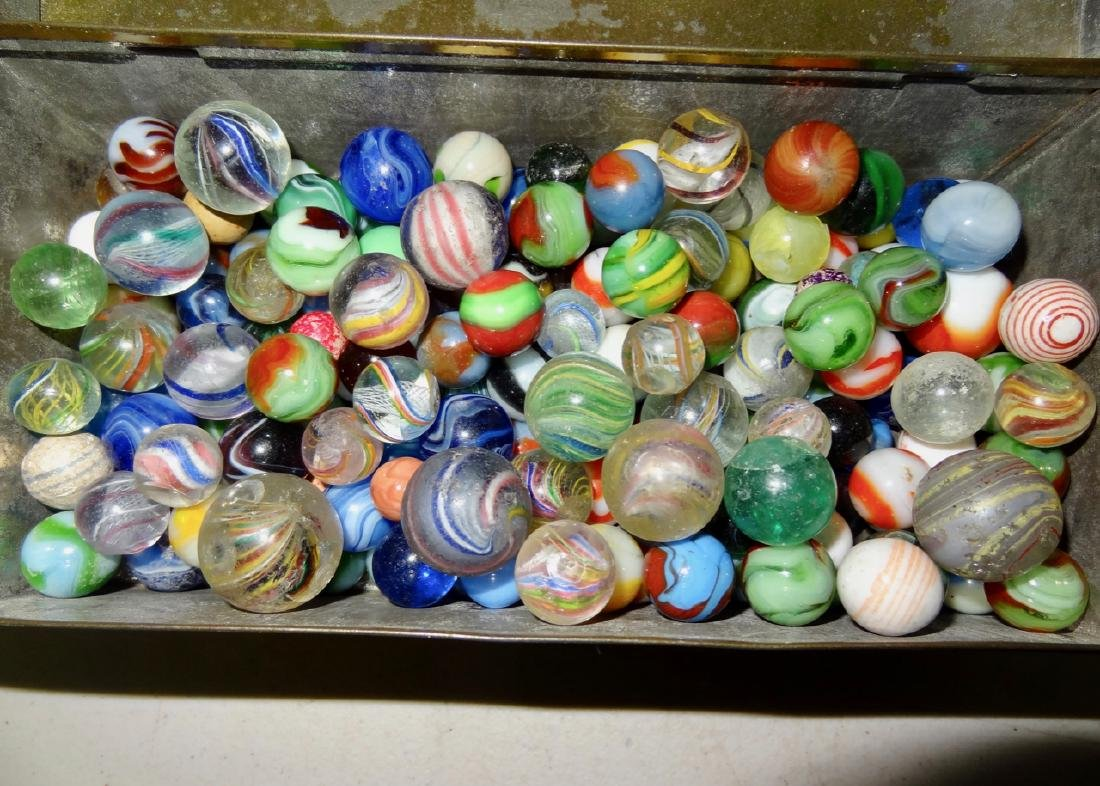 Marbles in Tin