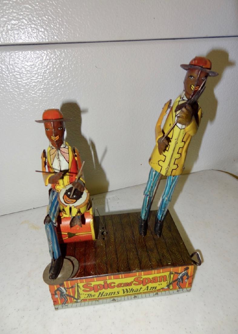 Spic & Span Tin Toy