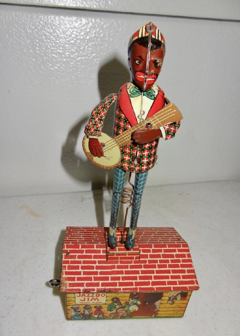 Jazzbo Jim Tin Toy