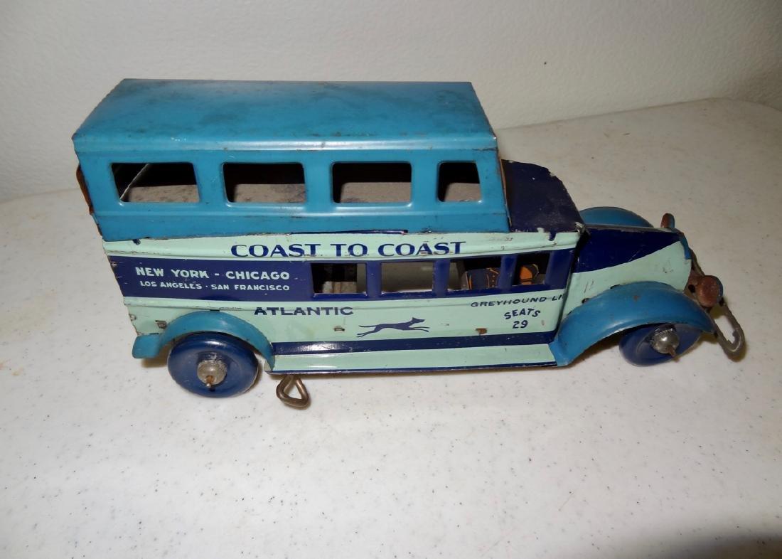 Marx Coast to Coast Greyhound Bus