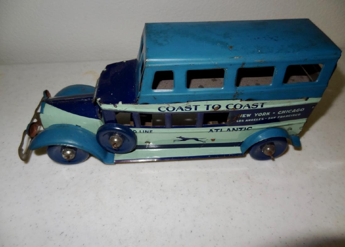 Marx Coast to Coast Greyhound Bus - 3