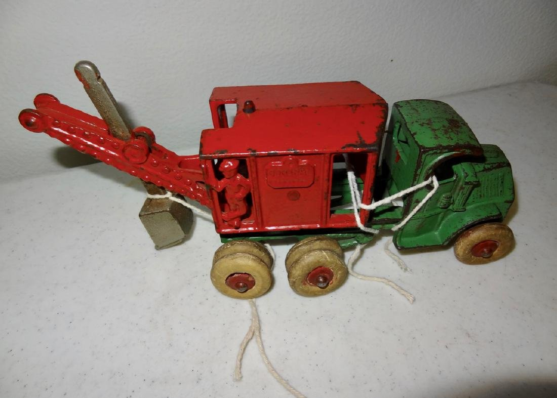 Cast Iron Mack Crane Truck General