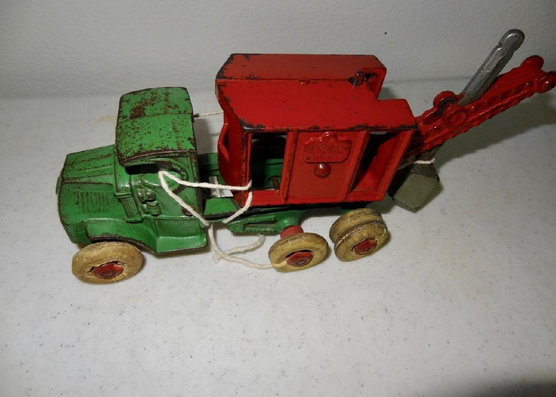 Cast Iron Mack Crane Truck General - 2