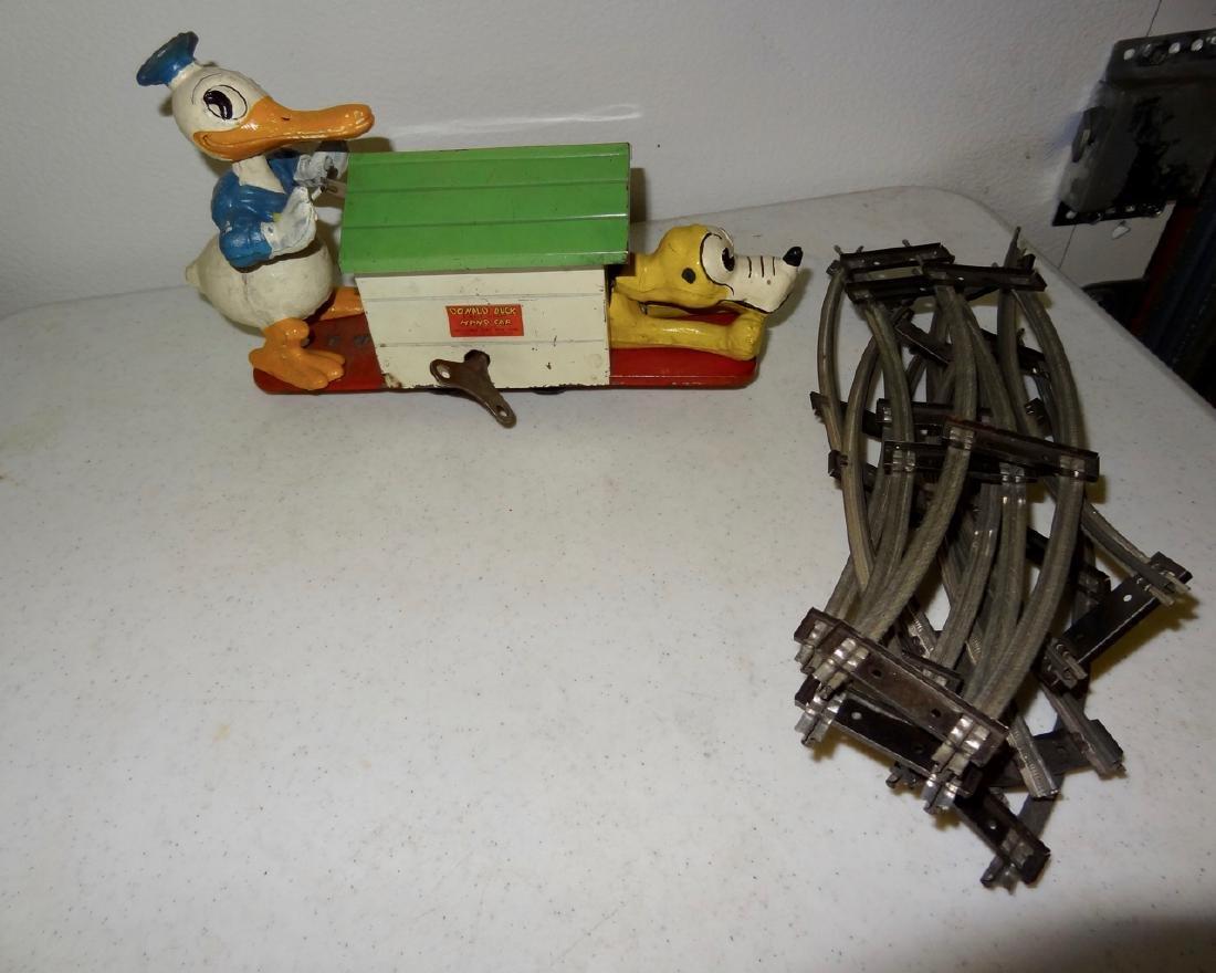 Lionel Donald Duck Walt Disney Hand Car