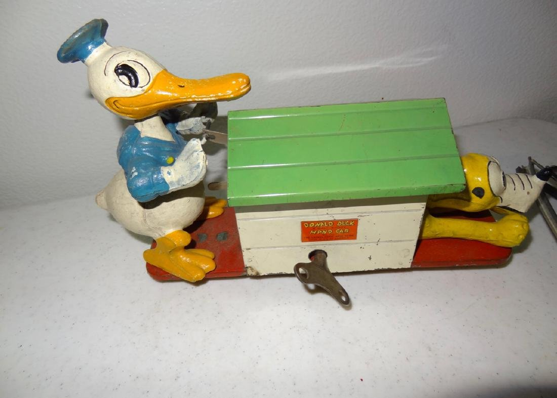 Lionel Donald Duck Walt Disney Hand Car - 2