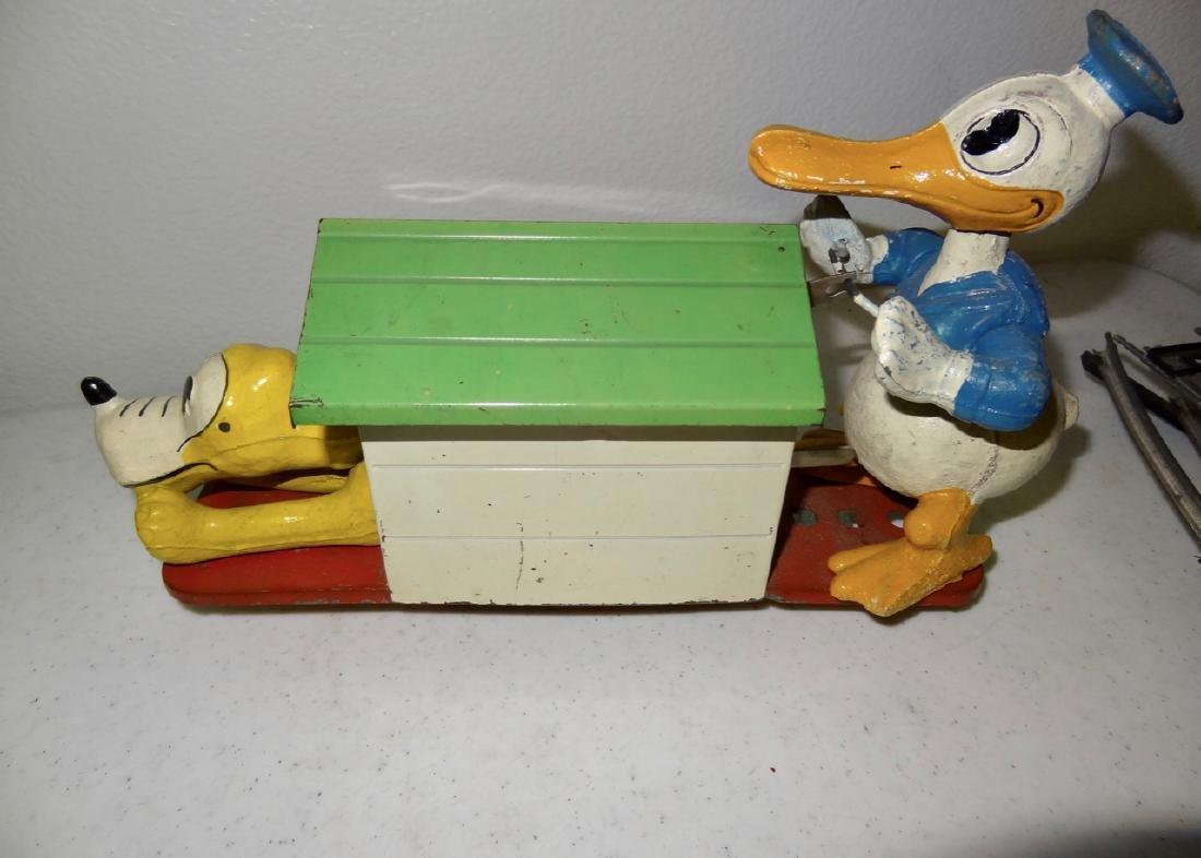 Lionel Donald Duck Walt Disney Hand Car - 3