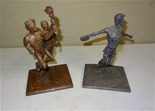 2 Barrett Colea Inc Desk Top Statues