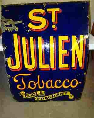 Large St. Julien Tobacco Sign