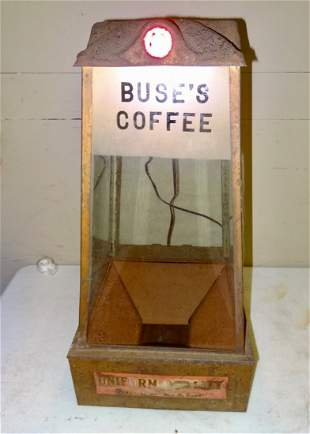 Buse's Coffee Store Display