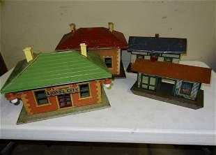 4 Lionel Buildings