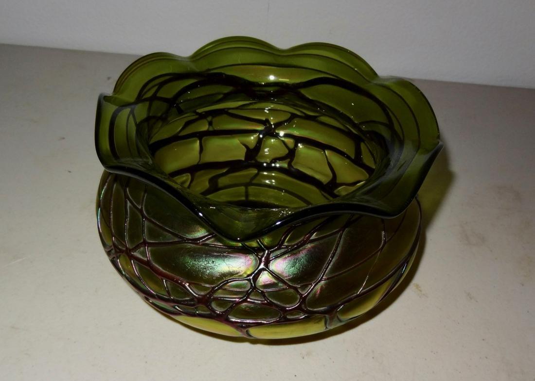 Unsigned Art Glass Bowl
