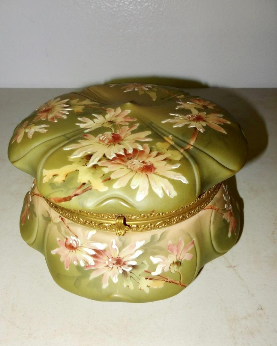 Large Signed Nakara Wavecrest Jewel Box