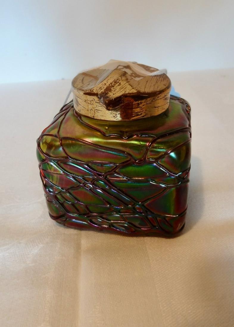 Art Glass Ink Well