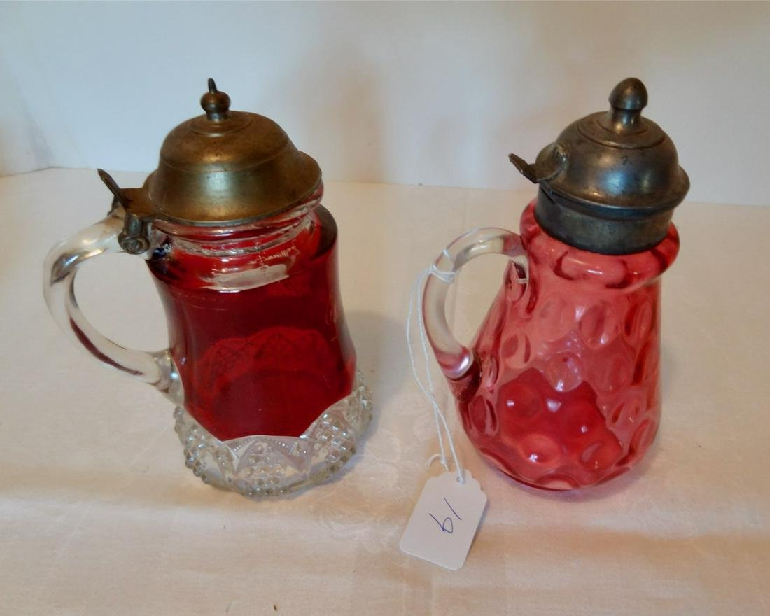 Two Victorian Syrup Pictures