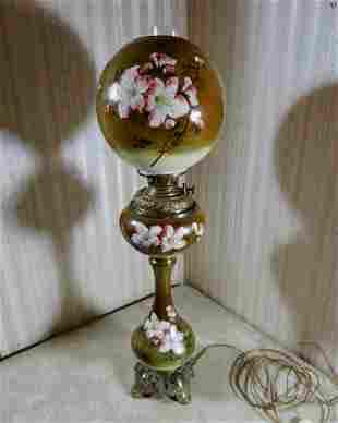 Large Ornate Banquet Lamp