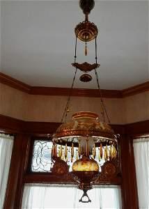 Unusual East Lake Hanging Lamp