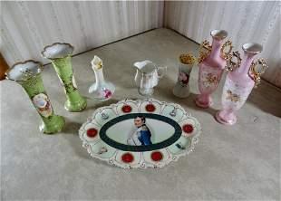 8 Pcs Of Porcelain