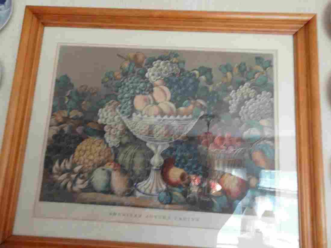 Currier & Ives large folio fruit litho