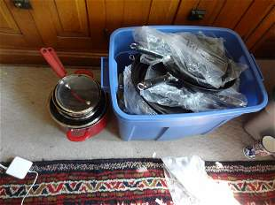 Large lot of cookware